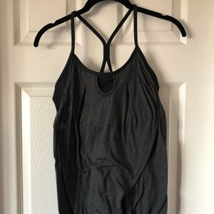 Lululemon Top Black & Grey